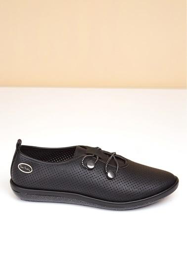 Pierre Cardin Pierre Cardin Siyah Kadın Düz Ayakkabı Siyah